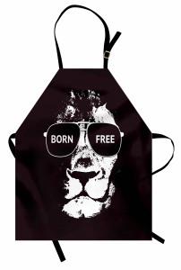 Afrikanische Löwengläser Kochschürze
