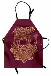 Afrikanische Tier Mandala Kochschürze
