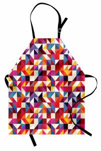 Bauhaus-Art-Muster Kochschürze