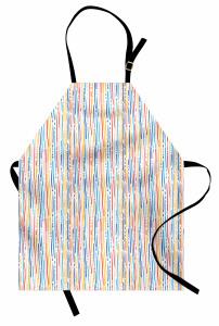 Bunte Streifen-Linien Kochschürze