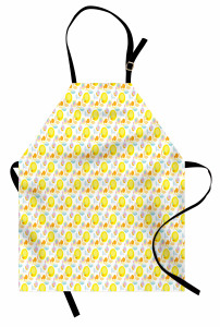 Abstract Summer Flowers Apron