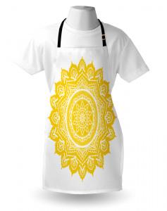Damast-Stil-Motiv Kochschürze