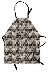 Hexagon Mosaik Bohemian Kochschürze