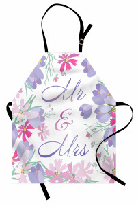 Colorful Flower Blooms Apron