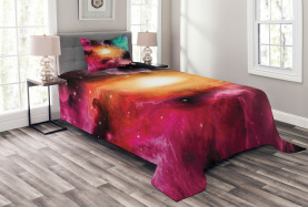 Galaxie Stardust Kosmos Tagesdecke Set