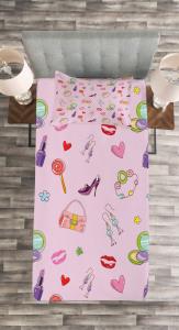 Flora Fashion Lollipop Tagesdecke Set