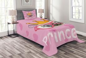 Glückliche Prinzessin Cat Tagesdecke Set
