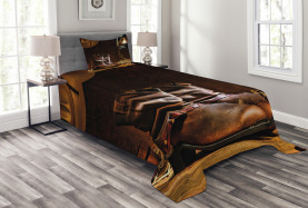 Western Riding Tools Shoe Bedspread
