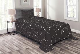 Sternbilder Horoskop Tagesdecke Set