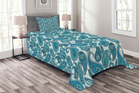 Antique Paisley Ethnic Bedspread