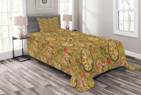 Colorful Persian Style Bedspread