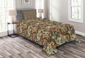Blooms Ethnic Arabic Bedspread