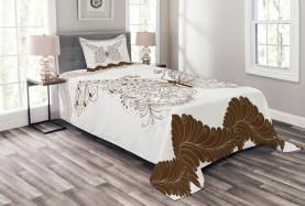 Abstract Retro Spring Bedspread