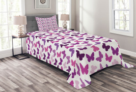 Butterfly Carved Wing Bedspread