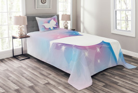 White Floral Magical Bedspread