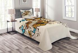 Monarch Vintage Damask Bedspread