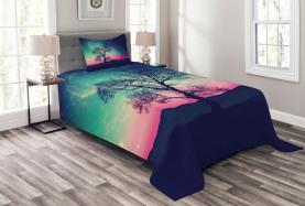 Magische Aurora Borealis Tagesdecke Set