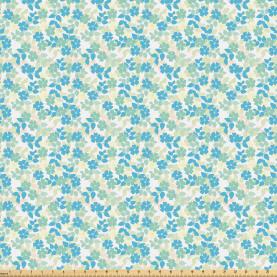 Nostalgic Flower Summer Fabric by the Yard