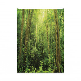 Regenwald-Landschaft Wandteppich