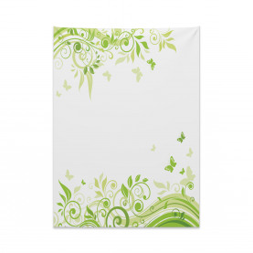 Swirling Spring Branches Tapestry
