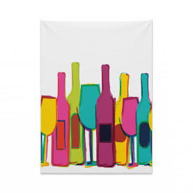 Happy Hour Party Alcohol Tapestry