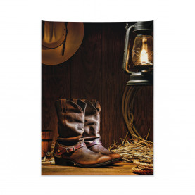 Western Riding Tools Shoe Tapestry