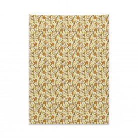 Baroque Style Magnolias Tapestry
