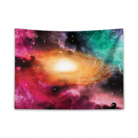 Galaxie Stardust Kosmos Breiter Wandteppich