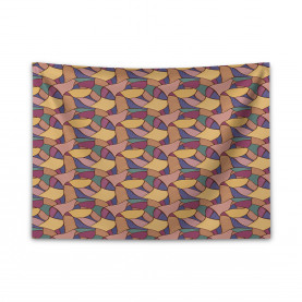 Funky African Boho Wide Tapestry