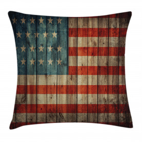 American  Throw Pillow Case Old National Patriotic Cushion Cover