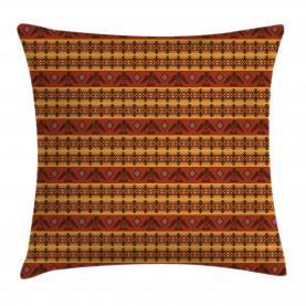 Indigenous Motifs Throw Pillow Cushion Cover