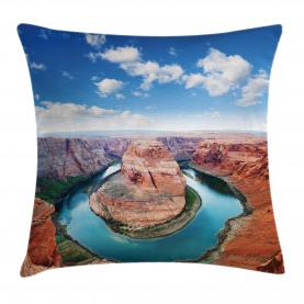 Grand Canyon Horse Shoe Bend Throw Pillow Cushion Cover