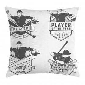 Baseball und Softball Kissenbezug