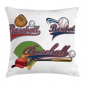 Baseball-Mitt-Ball Kissenbezug