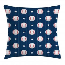 Baseball Artsy Streifen Kissenbezug