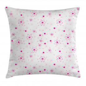 Muster mit Blumen Kissenbezug