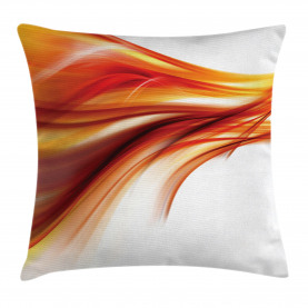 Modern  Throw Pillow Case Abstract Smooth Lines Cushion Cover