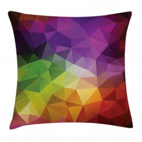 Geometrieform-Polygon Kissenbezug