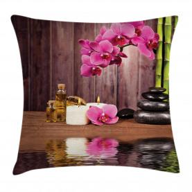 Spa Relax Kerzenblüte Kissenbezug