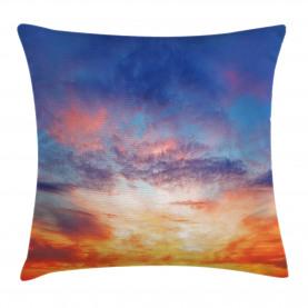 Sonnenuntergang Wolkengebilde Himmel Kissenbezug