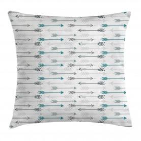 Retro  Throw Pillow Case Arrow Pattern Horizontal Cushion Cover