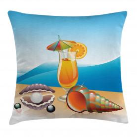 Seelandschaft Sommer Strand Kissenbezug