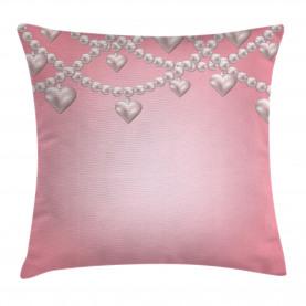 Herz Perlenkette Kissenbezug