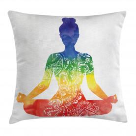 Kunstvolle Motive Regenbogen Kissenbezug