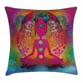 Mystisches Chakra spirituell Kissenbezug