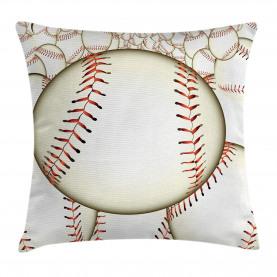 Baseball-Ball-Muster Kissenbezug
