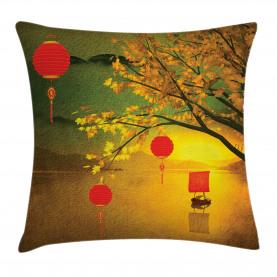 Traditionelles Chinesisch Kissenbezug