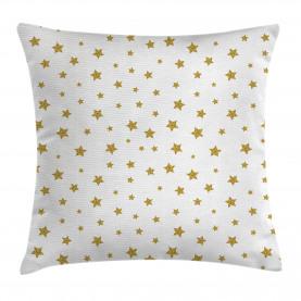 Gelbe Sterne Muster Kissenbezug
