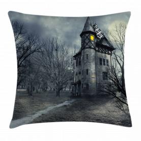 Gothic Spukhaus Kissenbezug