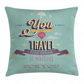 Reisen Reise Thema Angebot Kissenbezug